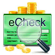 The Advantages of Using eCheques