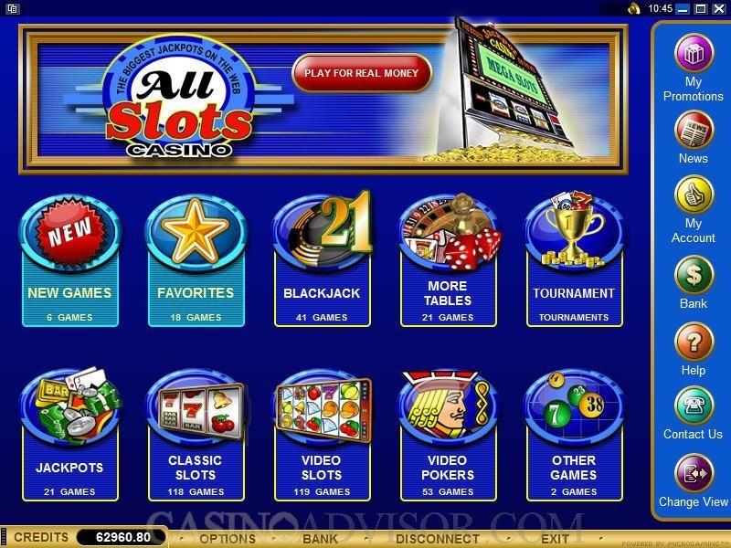 All Slots Casino Ipad