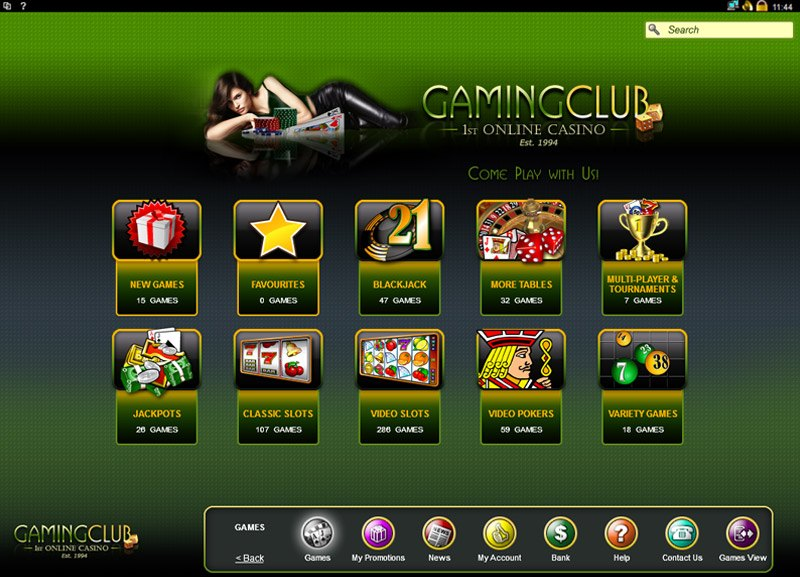 gaming club casino new zealand