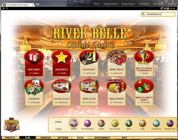 River belle online casino 12