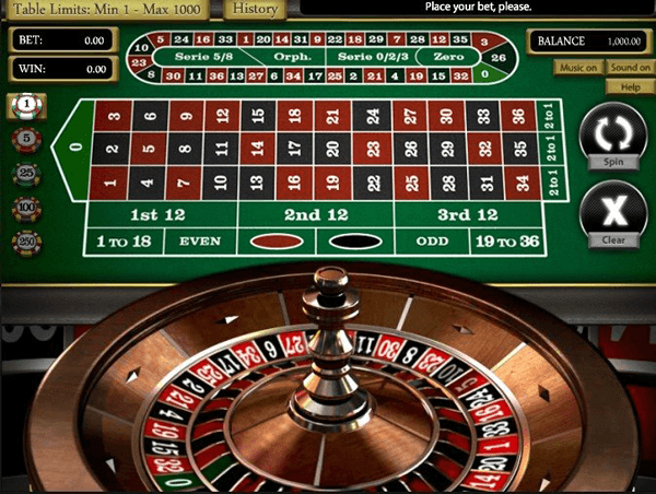 Play Live Roulette Online at Casino.com NZ