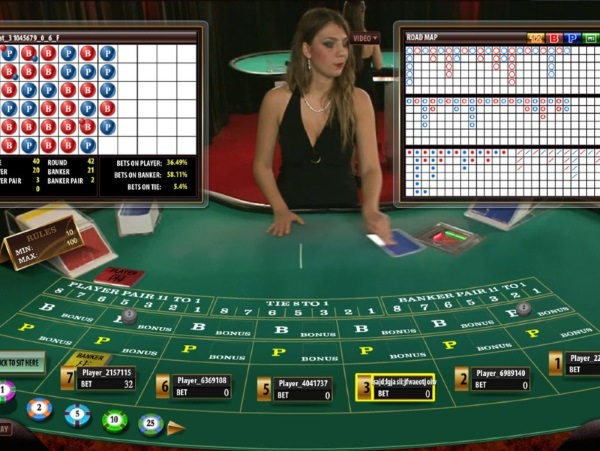 online casino dealer